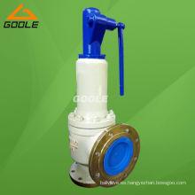 Válvula de seguridad de elevación completa con resorte tipo A44