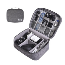 Fashion cable organizer bag  Digital Storage Bags Waterproof  Electronic Device Cabel Accessories Travel Bag Organize