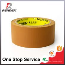 Fita de embalagem de fita adesiva de fita adesiva de fácil amadurecimento Brown Easy Strip