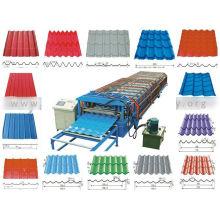 Máquina formadora de paneles de techo