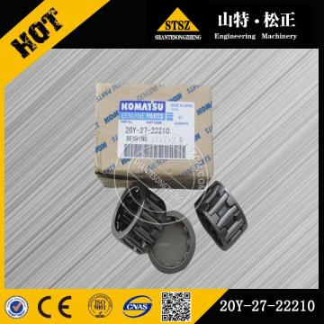 Peças genuínas Komatsu PC200-7 rolamento 20Y-27-22210