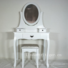 chambre commode maison centre luxe miroir maquillage commode table avec chaise