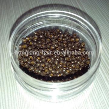 Micro rings for keratin hair extension