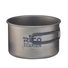 Qualitativ hochwertige Titan Camping Topf 800ml