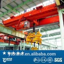 Crochet de 25 tonnes Double faisceau Cast pont roulant avec la qualité