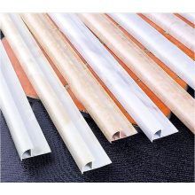 Metal Tile Profiles in White Colors