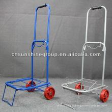 Portable pliable pliant chariot chariot