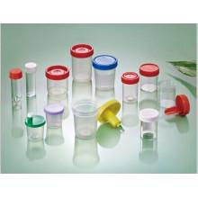 Recipiente de amostra de urina de 20 ml a 140 ml descartável