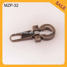 MZP32 Factory custom zipper puller with Non-Lock/Auto-lock slider for bag