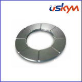 N35h Nickel Arc Neodymium Magnets (A-006)
