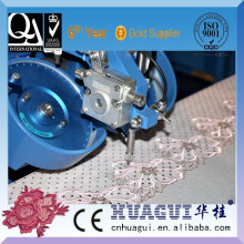 HUAGUI single head two color strass setting equipment used in ad paper