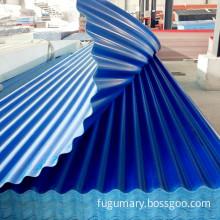 APVC/UPVC Colored Plastic Corrugated Roof Sheet/Panel