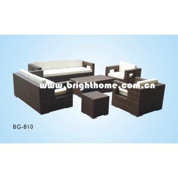 Наружный комплект для дивана PE Rattan Wicker Bg-810