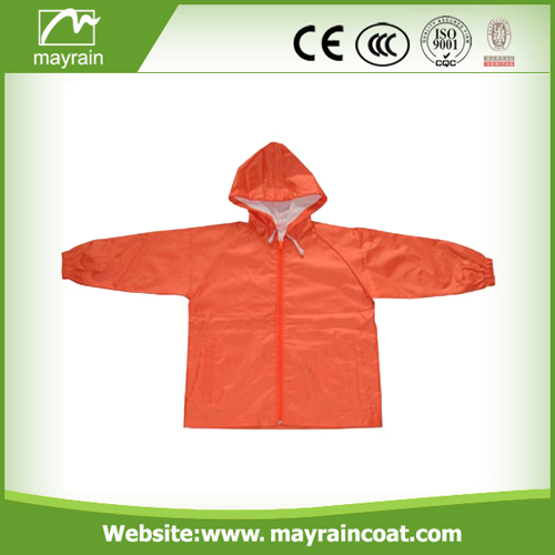 Reuse Kid' S PVC Rain Jackets