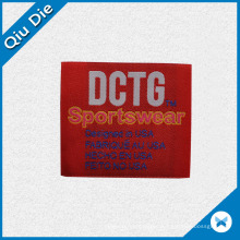 High Quality Weaving Label for Sportwear Accessories