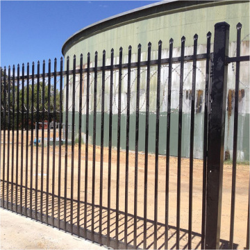 2017 New style factory whosale Iron fence