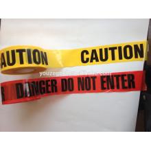 Лента PE предупреждающий без клея
