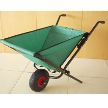 Portable and Foldable Wheel Barrow Made of Poly for Children