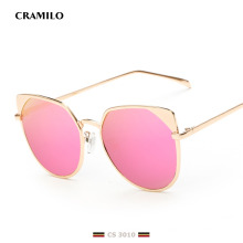 CS3010 Hochwertige Katze Sonnenbrillen Sexy Vintage Damen Luxus Sonnenbrille
