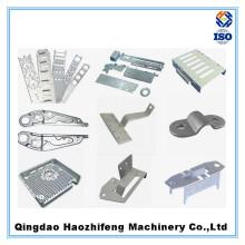 Chapa metálica personalizada que carimba as peças com perfuração do CNC