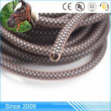 Corda de nylon revestida plástica transparente impermeável do cabo da tela do PVC
