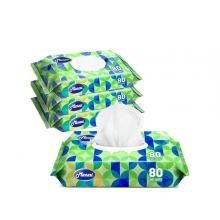 Toalhetes de limpeza e desinfetante bacteriano