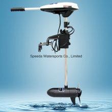 Nouveau livre 65 eau salée Poussée 12V bateau de pêche électrique Trolling Motor
