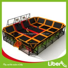 Parc de trampoline de la marque Top approuvé CE