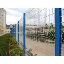 China Hersteller PVC beschichtete geschweißten Maschendrahtzaun