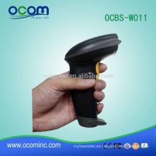 OCBS-W011 Código de barras portátil Lector de código de barras de Bluetooth Escáner de código de barras inalámbrico