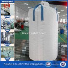 Bolso enorme del envase del popypropylene del bolso de los pp de la bolsa de FIBC del solo viaje para el mercado de Corea