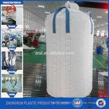 voyage unique FIBC sac pp jumbo sac sac de conteneur de popypropylène pour le marché de la Corée