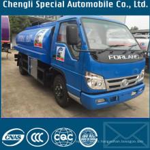 4 x 2 Forland petit camion de réservoir de 5000liters lait