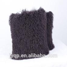 2018 Venta al por mayor Tibetan Mongolian Fur Cushion Cover