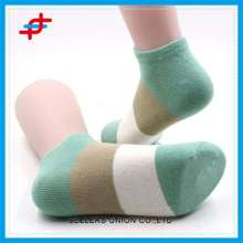 Colorful Stripe Pattern Knitted Tube Socks For Young Girls