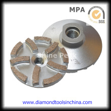 Diamond Abrasive Tool for Grinding Porcelain Tiles