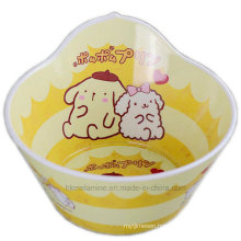 Melamine Salad Bowl with Cartoon Logo (BW7193)