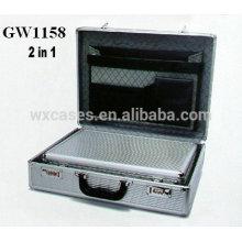 nouveaux design 2 en 1 mallette en aluminium de haute qualité de Chine usine