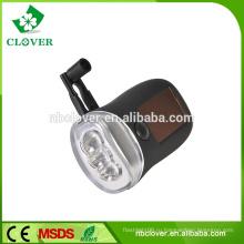 Мощный 3 динамо-фонарик с подсветкой для велосипеда