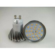 Novo Dimmable 2835 SMD 5W GU10 Lâmpada LED Spot Light