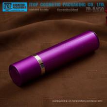 ZB-RA50 50ml rodada excelente qualidade cosméticos camadas dobro 50ml mal ventilada creme airless bomba rotativa