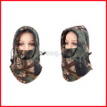 Camo Thermal Fleece Balaclava Winter Ski Neck Hoods Full Face Mask Cover Cap