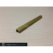 Acabado Aluminio Listello de Acero Mate 8mm Altura