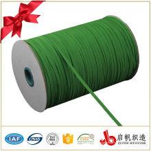 Schuhgebrauch 10mm breites geflochtenes elastisches Band des Polyester