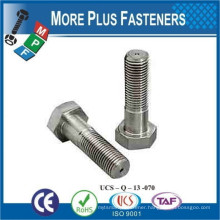 Made in Taiwan DIN 6914 Stainless Steel Carbon Steel Heavy Hexagon Structural Construction Bolt