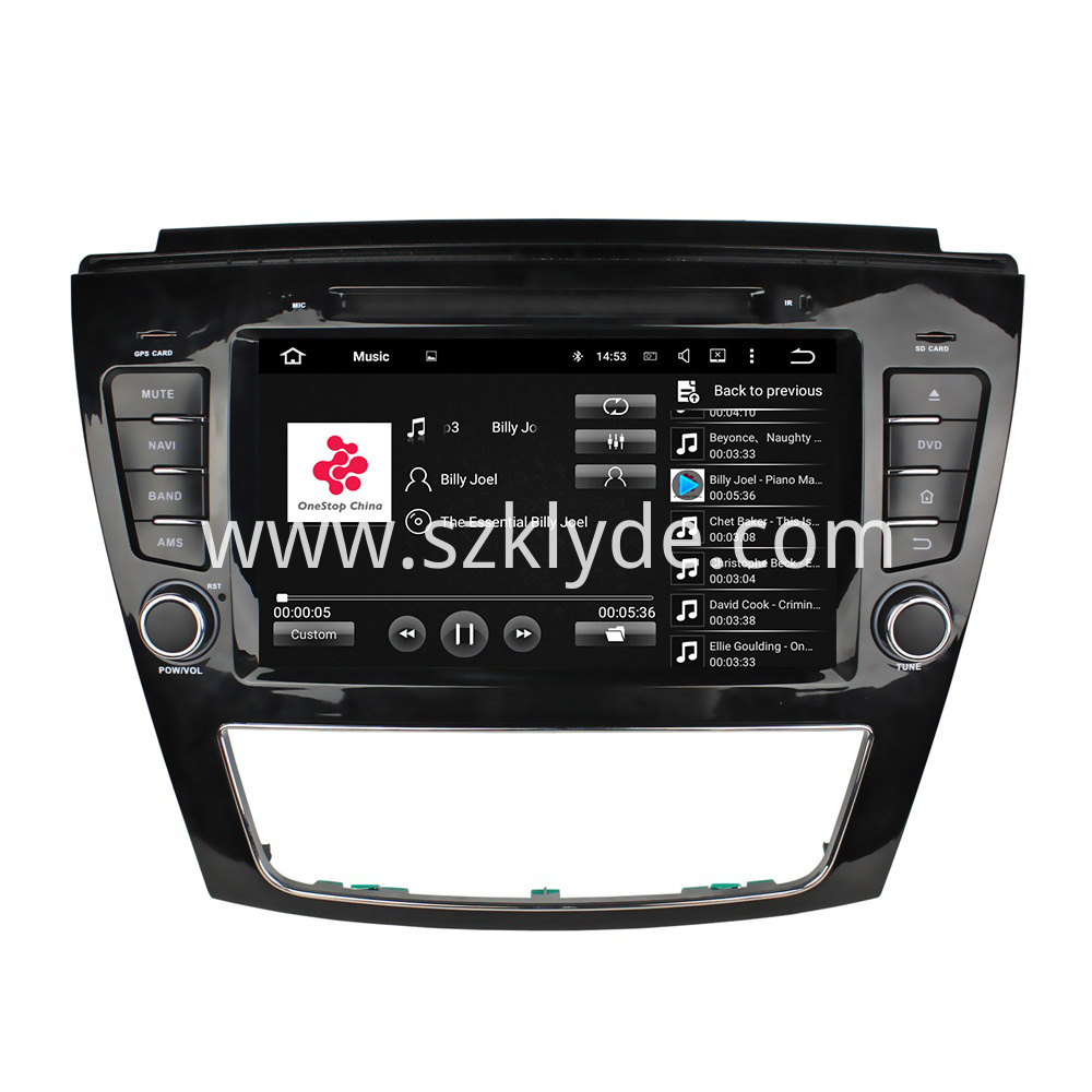 S5 car dvd radio for JAC car series