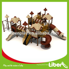 Outdoor playground equipment,playground tube spiral slides