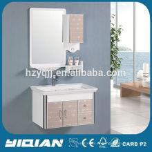 Espejo de diseño moderno montado en la pared estilo simple muebles de baño de almacenamiento