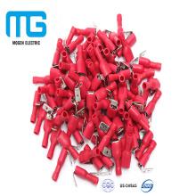 Conectores de terminais fêmeas isolados do crimp do fio do elevado desempenho PVC com AWG16-14
