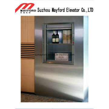 Hotel Food Dumbwaiter Elevator with Machine Roomless